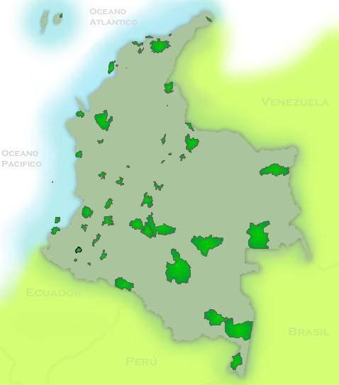 parcs nationaux de Colombie
